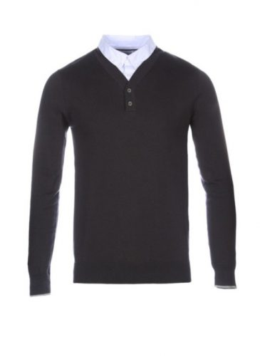 sweter męski guz