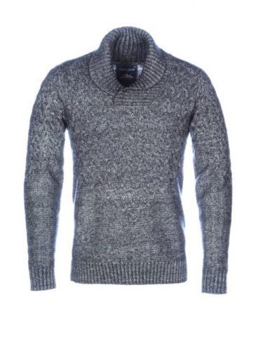 sweter męski melanż