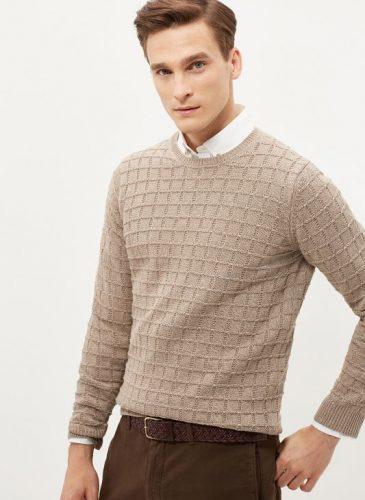 sweter męski kr