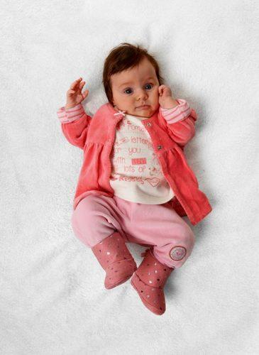 ubranko niemowlęce róż
